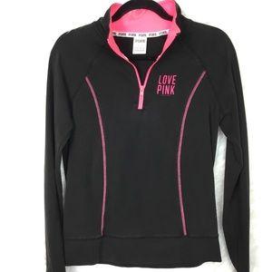 PINK Victoria Secret BLACK pullover
